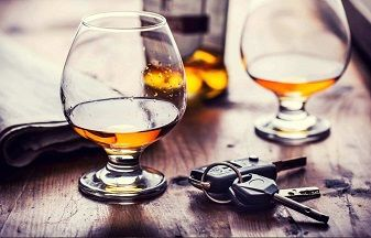 Alcohol and car keys - OUI first offense Massachusetts